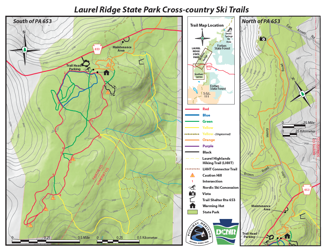 ski pennsylvania map with New Trail Map Laurel Ridge on Glencoe additionally Adirondack High Peaks Map 11x14 Print together with Niederau likewise New Trail Map Laurel Ridge additionally 4885053025.