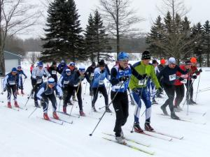 PA nordic championships 2017 classic race