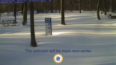 The webcam will be back next winter